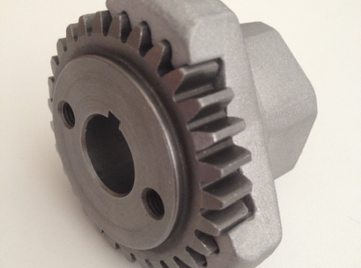 Smallframe Gear Stop - 29 3d printed