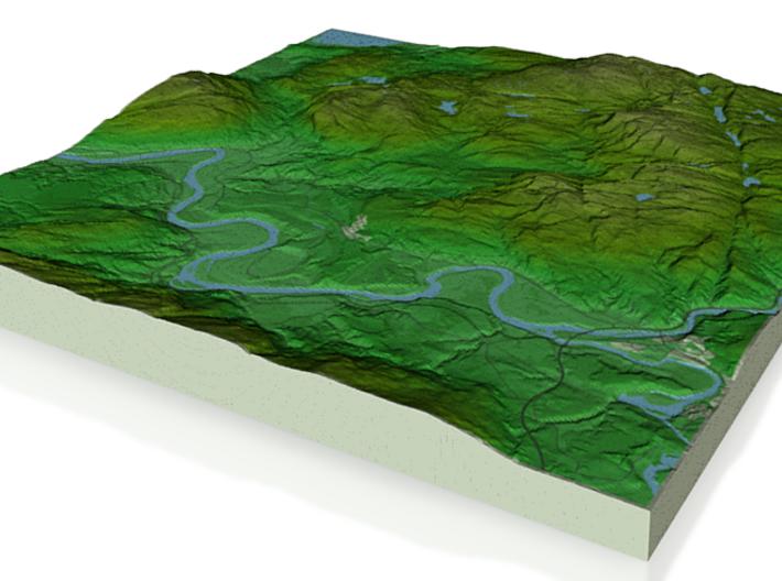 Terrafab generated model Sat Sep 28 2013 21:35:47 3d printed