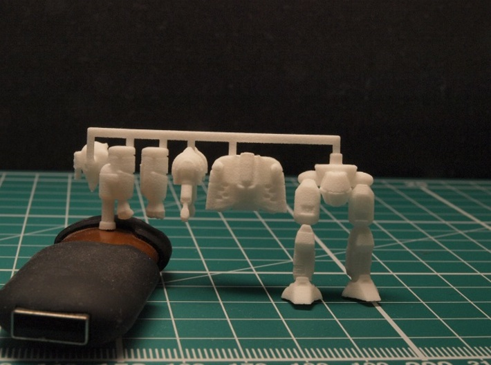 Densha Mecha 1/285 6mm 3d printed sprue