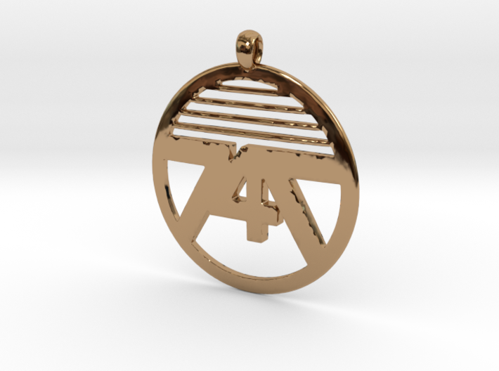 747 Necklace Small 3d printed
