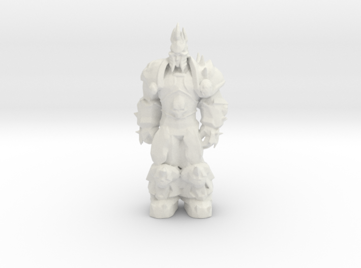 Arthas: Lich King from World of Warcraft (rest) 3d printed