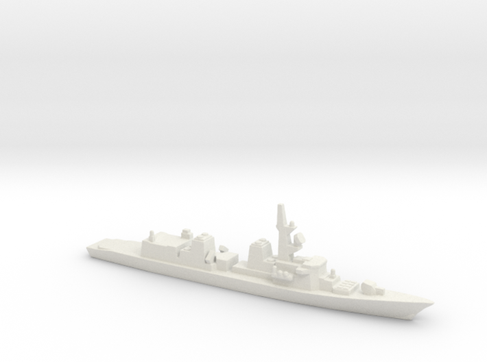 Takanami-class destroyer, 1/3000 3d printed