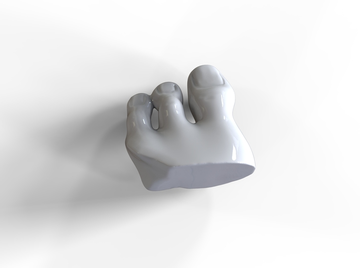 Feetpendant RE 3d printed