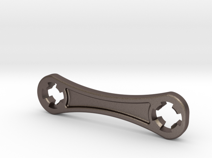 Raspberry Cam Lens Wrench Steel 3d printed
