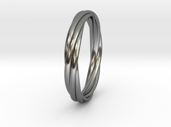 Eternal Regards Ring T( US 10 3/4) (20,17mm) 3d printed