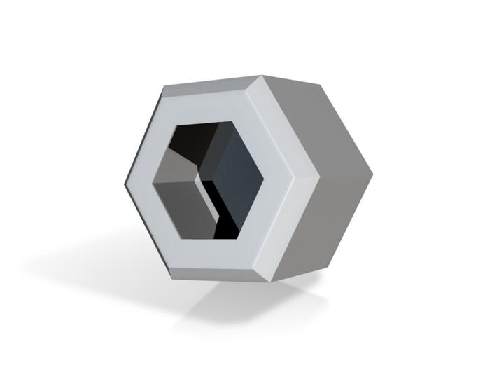 Hexacup 3d printed