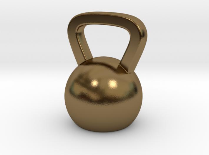 Mini Kettlebell Charm 3d printed