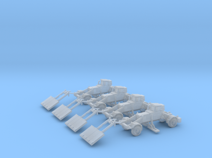 285th Husky Route Clearance Vehicles (4) 3d printed