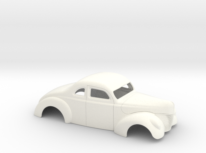 1/25 1940 Ford Coupe 2 Inch Chop 3d printed