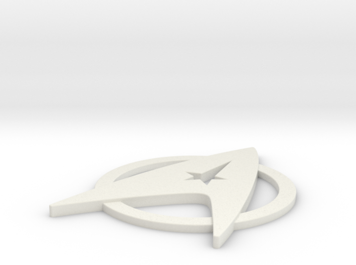 Starfleet Insignia for Dress Uniform 3d printed