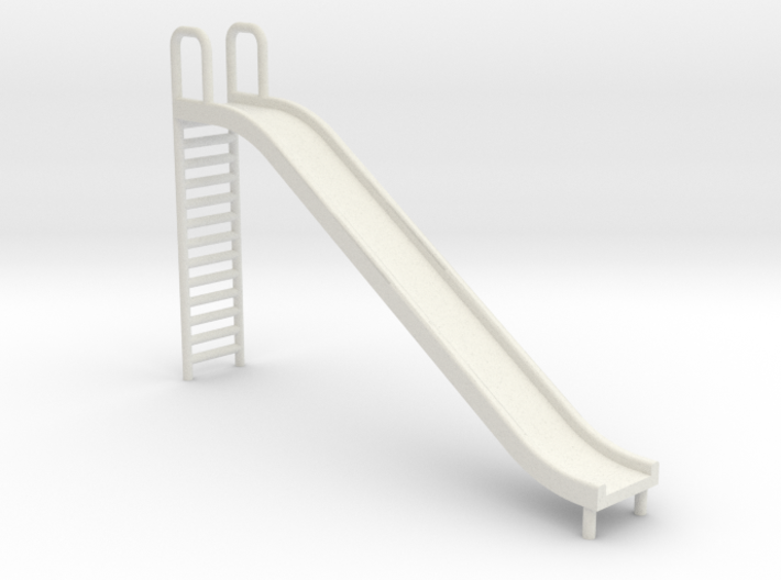 Playground Slide - HO 87: Scale 3d printed