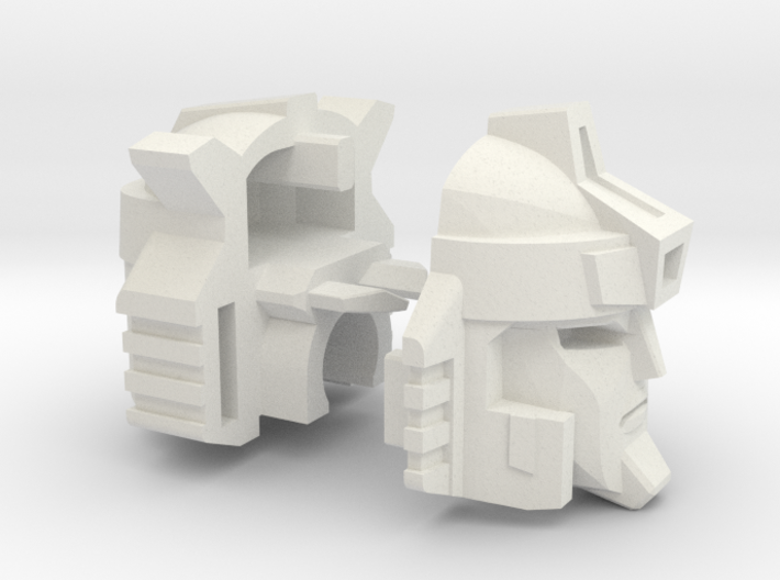 Breeze Rider Head Voyager 3d printed