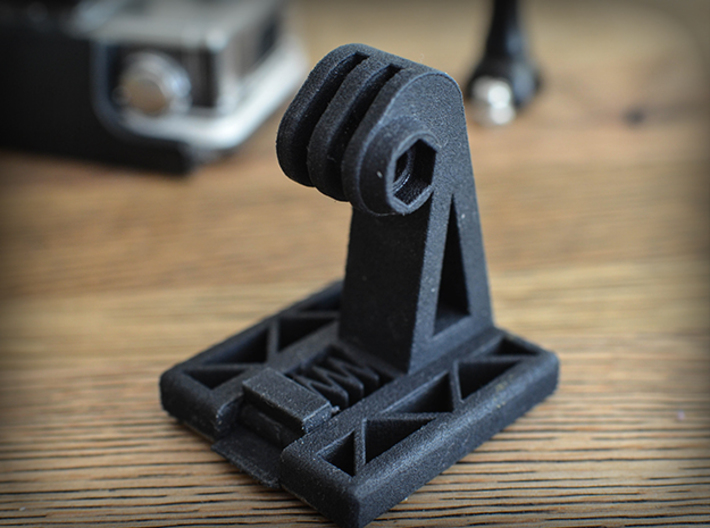 Helmet NVG Mount for GoPro Cameras (HERO 2/3/4) 3d printed Fan Photo by: op_airsoft