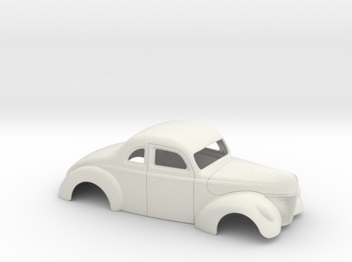 1/12 1940 Ford Coupe Stock 3d printed