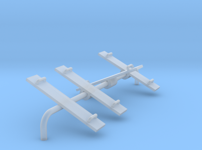 Playground Teeter Toter - N 160:1 Scale 3d printed