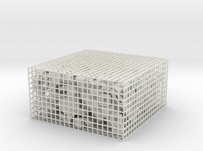Rhombic Raptor 3d printed