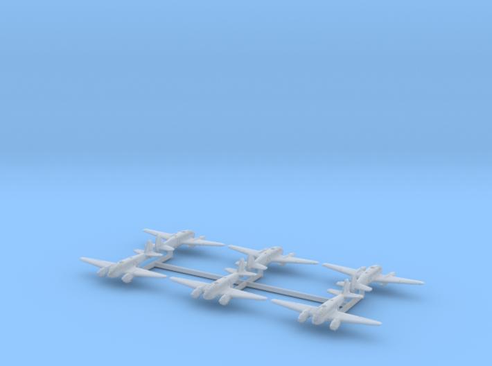 Caproni Ca.313 (In flight) 1/600 3d printed