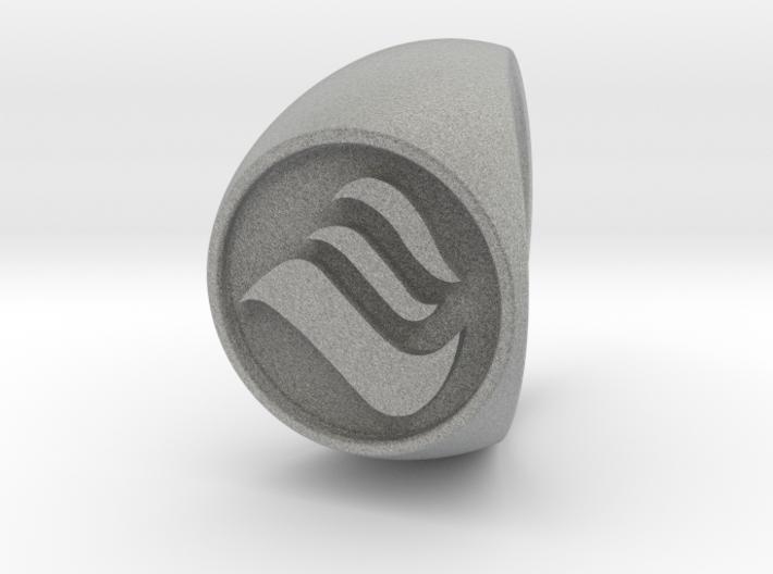 Custom Signet Ring 28 3d printed