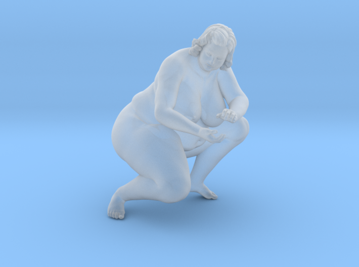 1/32 Fat Woman 009 3d printed