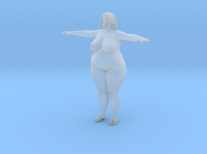 1/32 Fat Woman 016 3d printed