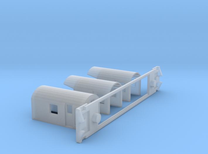 AG Centre Generator, NZ, (NZ120 / TT, 1:120) 3d printed
