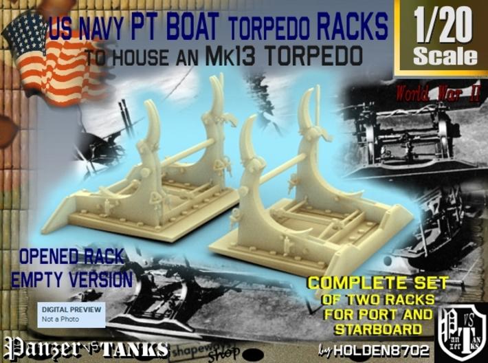 1-20 PT Torpedo Rack TypB Empty 3d printed