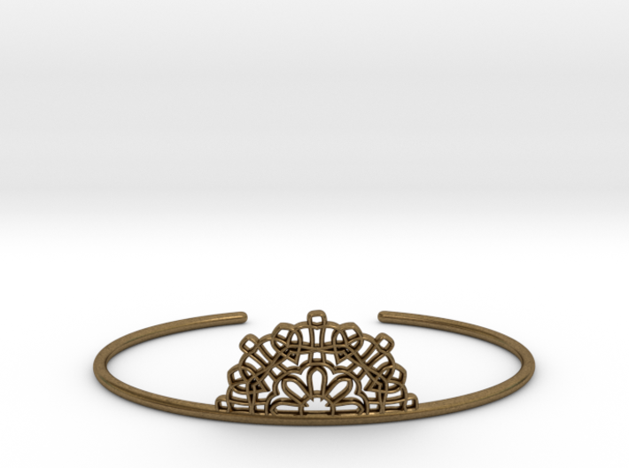 Half Lace Cuff - Medium 3d printed