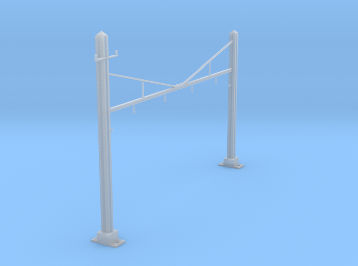 CATENARY PRR 4 TRACK N SCALE  3d printed