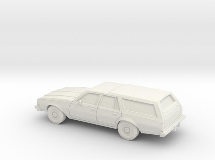 1/87 1977-78 Chevrolet Caprice Estate Wagon 3d printed