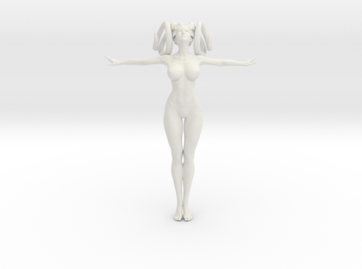 1/10 Evil Sexy Girl 002 Plan 02 3d printed