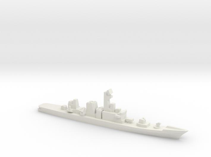 Hatakaze-class destroyer, 1/1800 3d printed