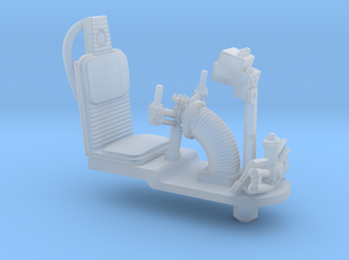 YT1300 DEAGO TURRET GUN WELL SEAT 3d printed