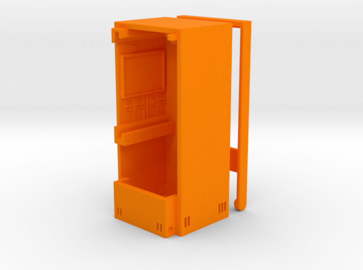 M.A.S.K. The Quencher - Orange parts 3d printed