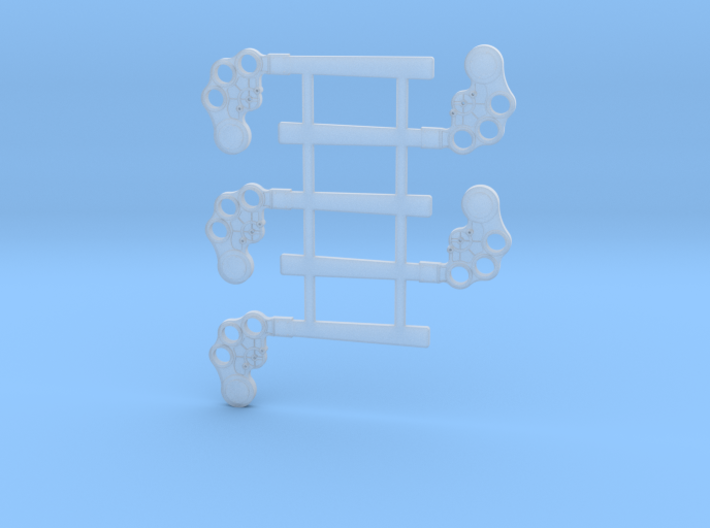 """HO Scale B&M TO Semaphore Square 60"""" 3d printed"""