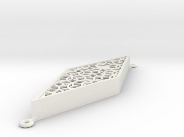 Penrose-mezuzah-thin 3d printed