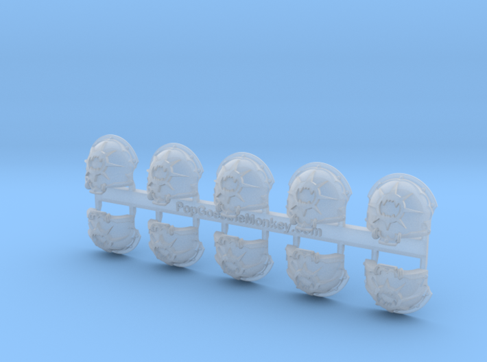 World Wreckers = Chaos Terminator Shoulder x10 3d printed