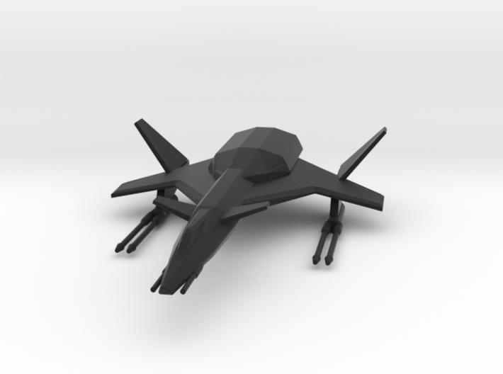 Raptor Space Fighter 3d printed