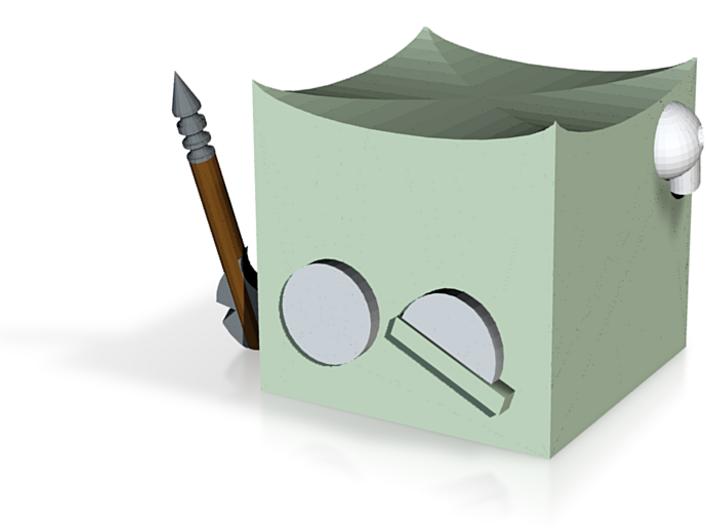 Gelatinous Cube N0gg1n 3d printed