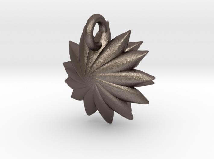 Spikey Succulent Pendant 3d printed