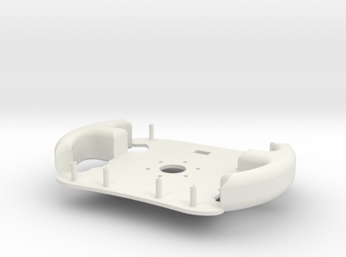 Steering Wheel Back 3d printed