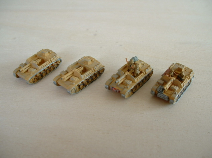 "Sturmpanzer II ""Bison"" 15cm Assault Gun 1/285 6mm 3d printed without add. stuff (figures.....)"