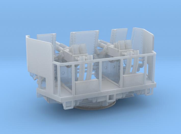 Quad Bofors Shielded 1/128 3d printed