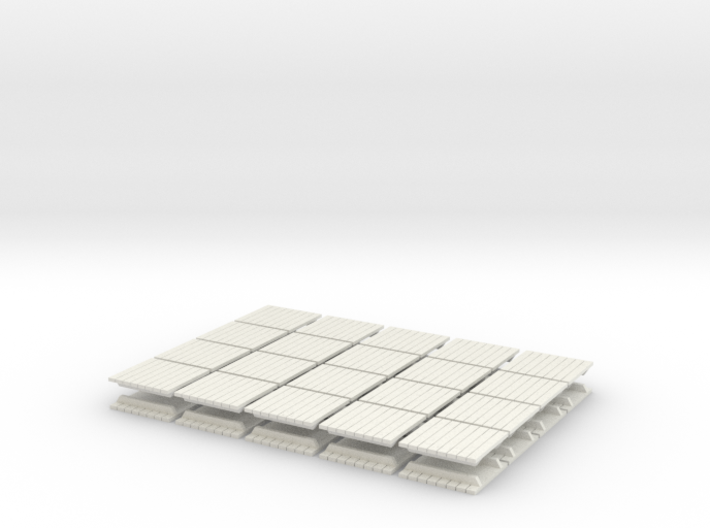 Skids (32) - HO 87:1 Scale 3d printed