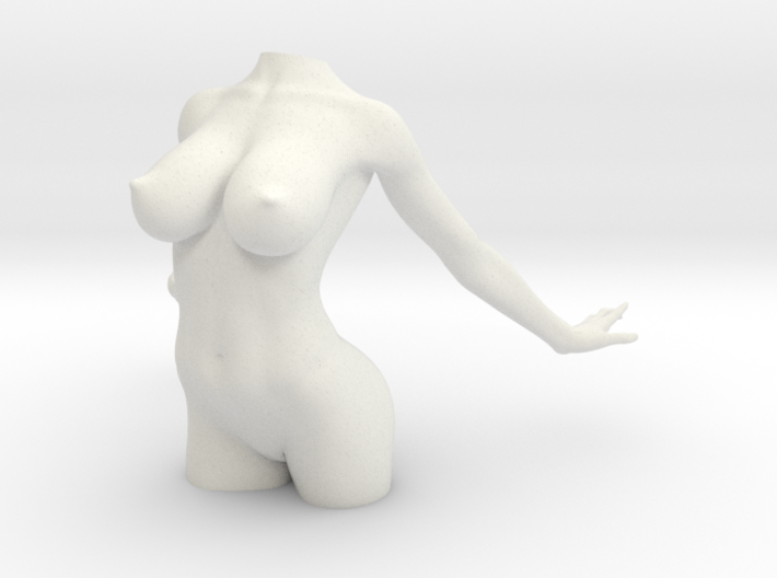5CM Nude Girl Part 002 3d printed