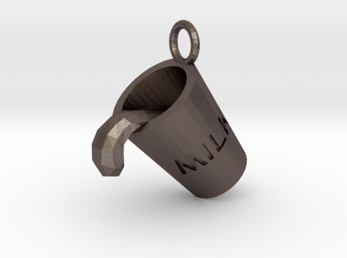 Milk Cup Friendship Pendant 3d printed