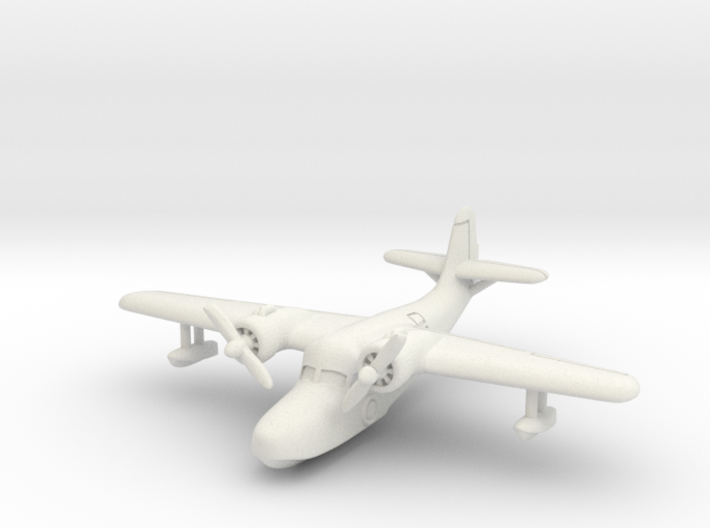 Grumman JRF-5 Goose (In flight) 1/285 6mm 3d printed