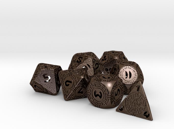 Daedalus Dice set 3d printed