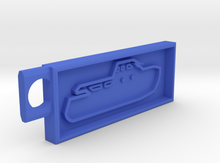 Boat Key Chain Fixed 3d printed
