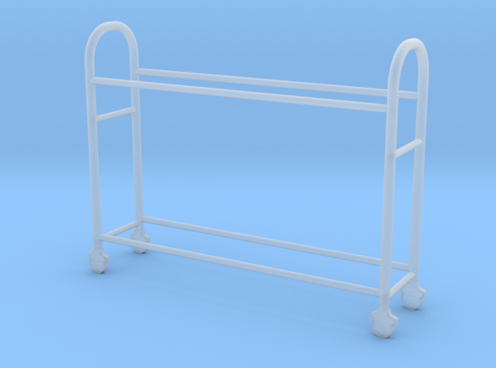 OMCP430001 Tyre rack version 1 (1/43) 3d printed