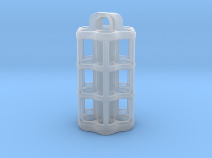 Tritium Lantern 5D (3.5x25mm Vials) 3d printed